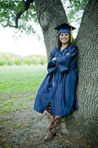 Graduating Teen